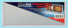 "10 ULTRA PRO HORIZONTAL BOOKLET TOPLOADERS 7-5/8"" x 3-13/64"" NEW Card Holder"