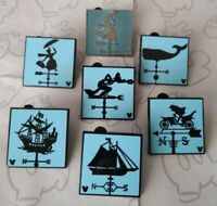 Attraction Weathervanes 2019 Hidden Mickey Set DLR Wave C Choose a Disney Pin