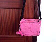 Kipling Brownie Breezer Shoulder / Crossbody Bag Pink Monkey