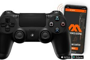 PS4 Standard Black SMART Custom Rapid Fire Modded Controller. Mods for FPS games