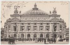 Paris France L'Opera Antique Postcard #589