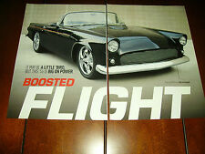 1956 FORD THUNDERBIRD HOT ROD GT 40 CRATE ENGINE ***ORIGINAL 2008 ARTICLE***