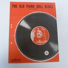 Songsheet el viejo piano Roll Blues Joy Nichols 1950