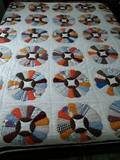 New listing Handmade quilt, multi-color, queen size. Beautiful and in excellent condition