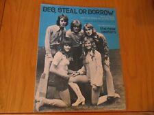 The New Seekers - Beg Steal Or Borrow = Sheet Music