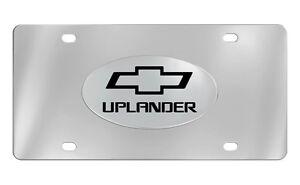Chevrolet Uplander 2012-16 Bowtie Decorative Vanity Front License Plate