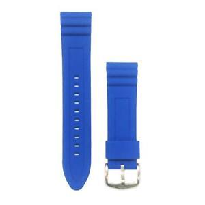 Cinturino di ricambio Orologio FOSSIL GWPFW1046 Silicone Blu 22mm