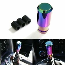 JDM Aluminum Neo Chrome Short Drift Shape Bar Shifter Shift Knob Manual Car E369