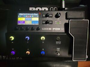 Line 6 POD Go Wireless Guitar Effects Processor Tone Pedal Amp Simulator