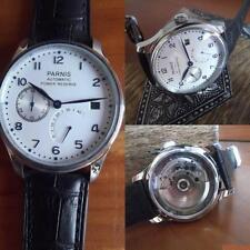 PARNIS   43 mm PILOT POWER  RESERVE AUTOMATICO,SEAGULL 2530