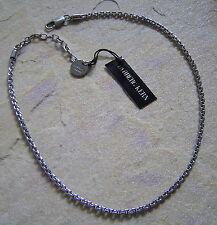 Dyrberg Kern Necklace Demets Shiny Silver Chain 46cm