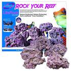 Caribsea+Life+Rock+Box+Real+Reef+Aquarium+Marine+Purple+Live+Rock+Fish+Tank