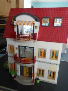 Playmobil 4279 Wohnhaus + 1 Zusatz-Etage + Einrichtung