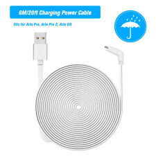 2/9m Charging Power Cable Cord For Arlo Pro 2 Arlo GO Camera In / Outdoor E9I7