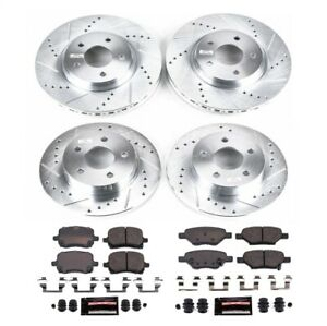 Power Stop K1612 Z23 Evolution Sport Brake Kit For 04-07 Saturn Ion 2.0L NEW