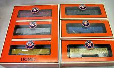 LIONEL RARE TCA 2002 6 CAR GONDOLA SET MINT/OBs INCLUDES ULTRA RARE BANQUET CAR