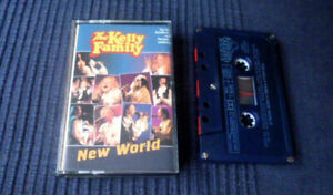 MC Cassette Tape Kelly Family - New World | Who'll Come With Me (David's Song)