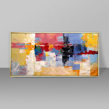 HH296 Large Abstract Decorative oil painting Hand-painted on canvas No Frame