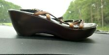 """Size 6.5M Donald J Pliner sandals """"Made in the Mountains of Italy"""""""