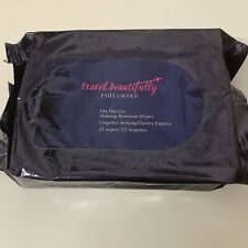 ESTEE LAUDER ON-THE-GO MAKEUP REMOVER WIPES BRAND NEW 25 Wipes