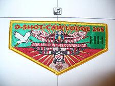 OA O Shot Caw Lodge 265 F-29, 2005 S4S HOST GRN Sateen Totem Pole Flap, South FL