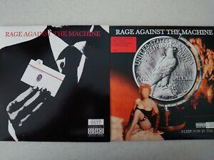 Rage against the machine vinyl x2
