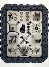 I Heart Folk Art-Block of the month 4-Patterns by Heart to Hand Kathi Campbell