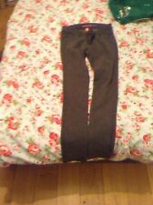 Superskinny grey trousers size 8