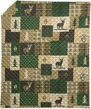 NEW! Your Lifestyle by Donna Sharp Green Forest Throw / blanket