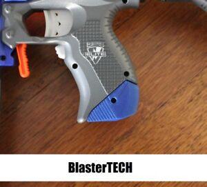 Stryfe Grip Extension 3d Printed for Nerf Blaster (Blue)