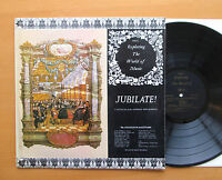 EXP 26 Jubilate! Cantatas Of The German Mid-Barock ORYX 1969 Stereo EXCELLENT