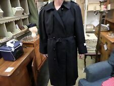 NETHERLANDS TRENCH COAT. MILITARY? GARADINE WOOL -DUTCH - SIZE 46