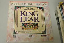 WILLIAM SHAKESPEARE'S KING LEAR DOUBLE DISC SET LD LASERDISC BRAND NEW SEALED