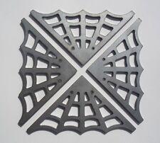 4 Spider Web steel gussets(3071-3) motorcycle motorbike frame custom handlebars