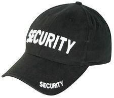 Homme sécurité casquette de baseball viper videur porte homme nuit garde chapeau homme noir