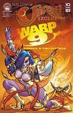 JINRI #1 WARP 9 COMICS EXCLUSIVE VARIANT COVER! 300 MADE!