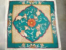 Arty's PASSION Pañuelo Seda pintado a mano 100% 90x90cm FishDance.169