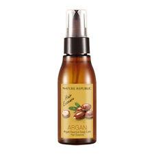 Nature Republic Argan Essential Deep Care Hair Essence 60ml Damage Care Hair Oil