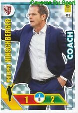 481 PHILIPPE HINSCHBERGER FC.METZ COACH CARTE CARD ADRENALYN LIGUE 1 2018 PANINI