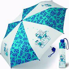 ESPRIT Jungen-Schirm, Kinder-Regenschirm (stabil&leicht), Taschenschirm Blau NEU