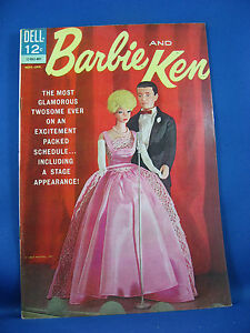 BARBIE AND KEN 5 VF+ 1964