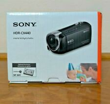 Sony HDR-CX440 HD Handycam with 8GB Internal Memory + 4X64GB SD Cards - Sealed