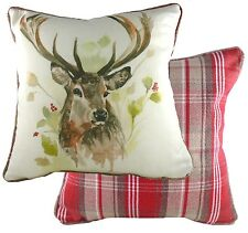 Country Stag Cushion Cover by Evans Lichfield  NEW  26658