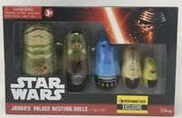 Disney Star Wars Jabba's Palace Nesting Dolls Set EE Exclusive- 5 Pieces