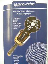 SeaStar Pro Steering Wheel Trim Switch Control SINGLE lever PT1000P-1P LC