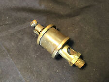 Vtg Onergan Brass And Plastic Hit And Miss Steam Engine Oiler #383 Phila. Pa Usa