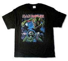 Iron Maiden-Final Frontier-2010 Tour-3X Black T-shirt