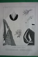Original Page Vogue 1924 Art Deco Illustration Georges Lepape Details
