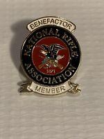 National Rifle Association NRA Benefactor Member Hat/Lapel Pin