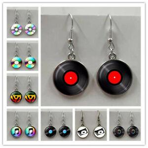 Music Record/CD earrings